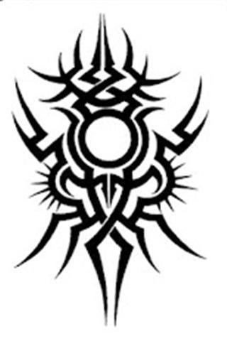 t恤花纹纹身图案 猫头鹰