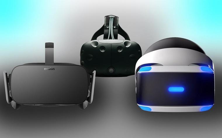 市面上的三大VR设备