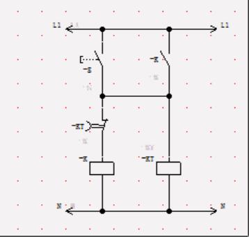 定时电路工作,定时电路将不定时给延时通电电路供电