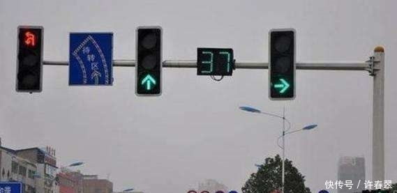 红灯允许右转却被罚款扣分?请回去驾校补考科目一再来