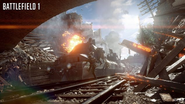 XboxOne S版《战地1》支持HDR