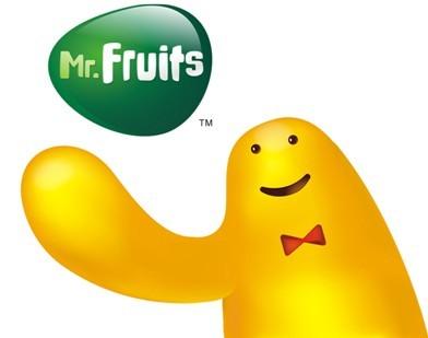 """水果先生整体品牌形象由晏钧设计开发完成,""""mr."""