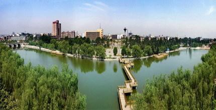 渭南东湖半岛总平面图