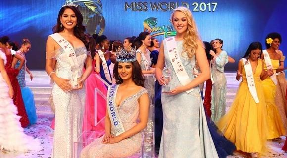 世界小姐总决赛印度佳丽夺冠 身材高挑抢眼