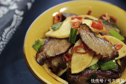 好吃又下饭的冬笋炒腊肉制作窍门告诉你超级美味简单又健康