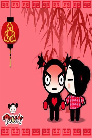 中国娃娃壁纸