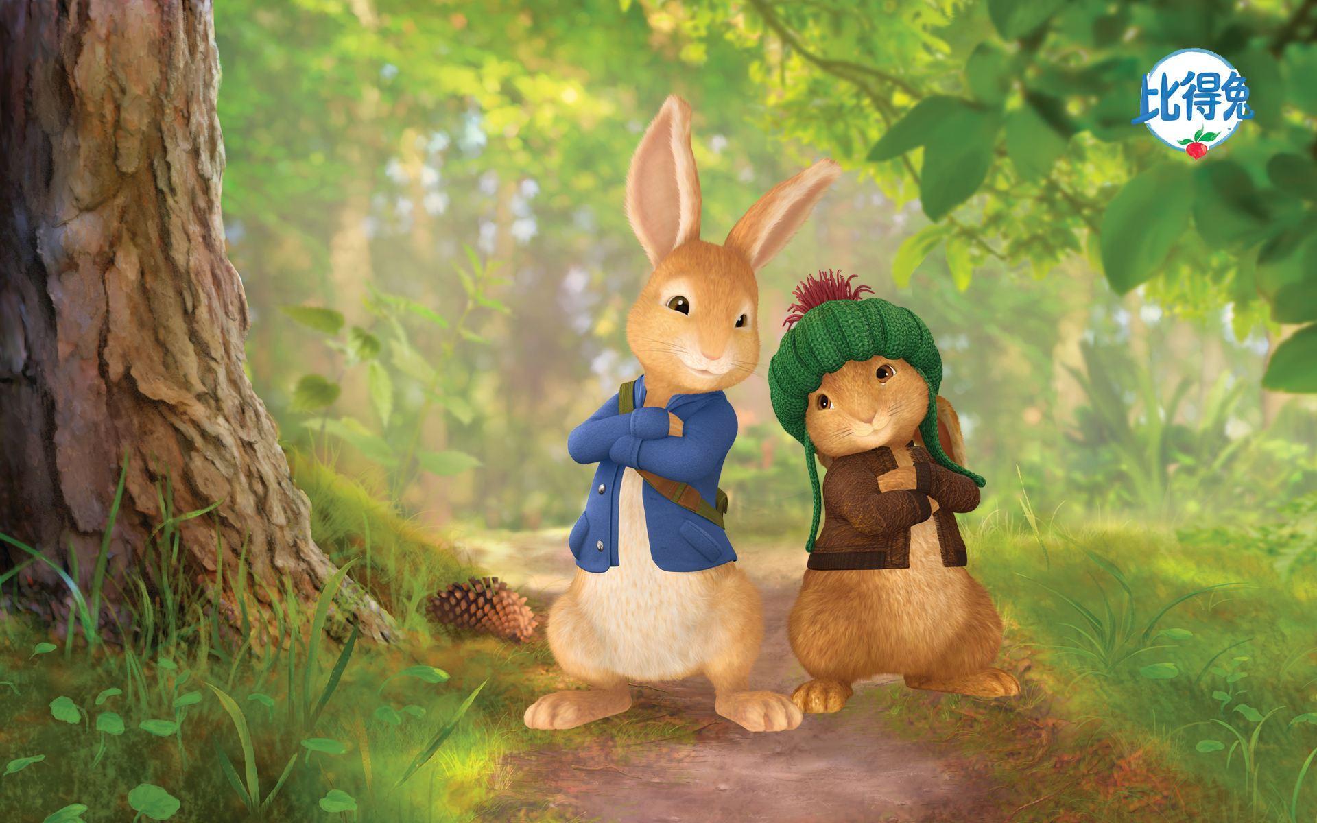 孩子们有时候觉得,自己就是那只调皮可爱而又偶尔不听妈妈话的小兔子.