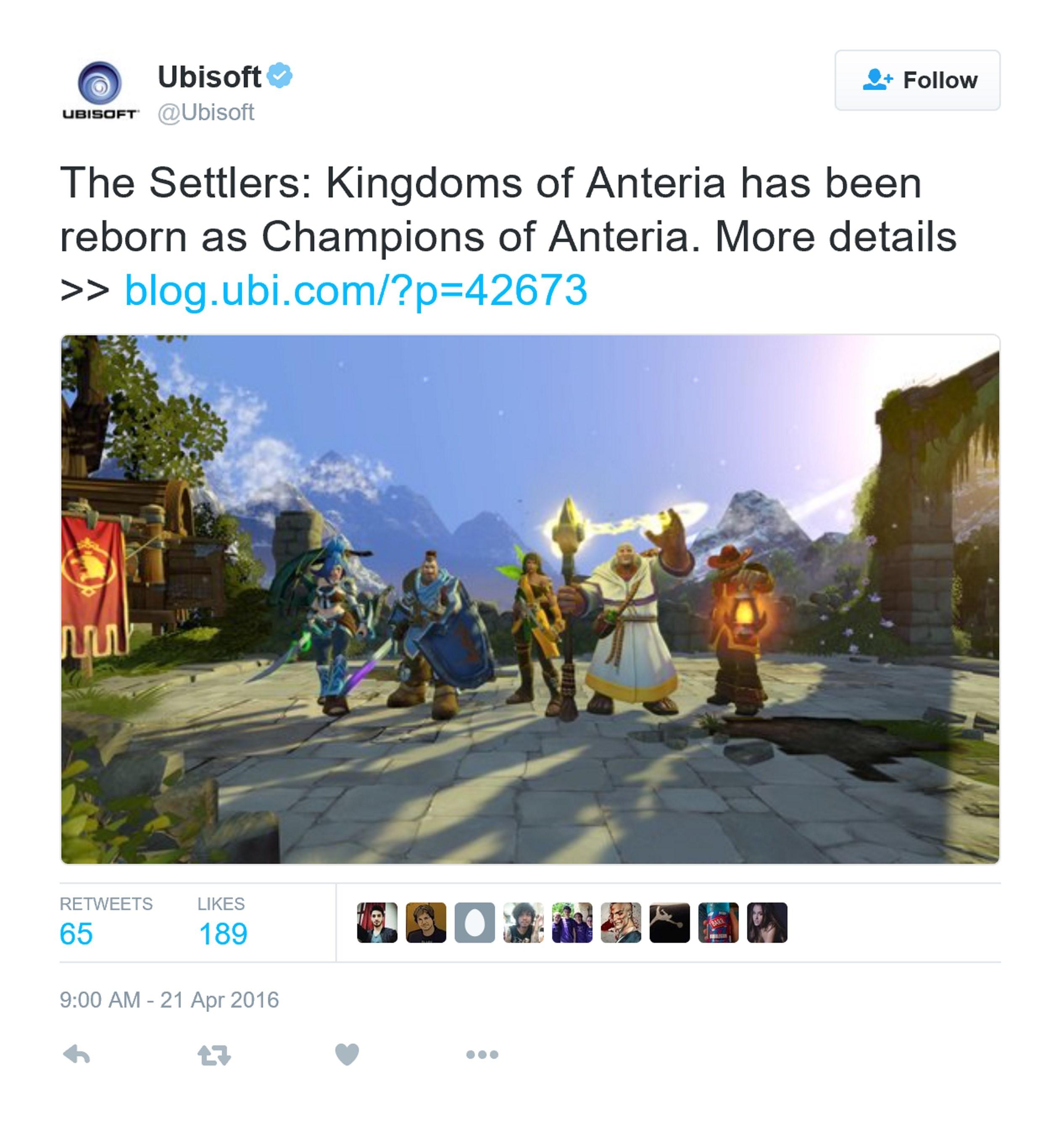 安特里亚冠军8月登陆PC