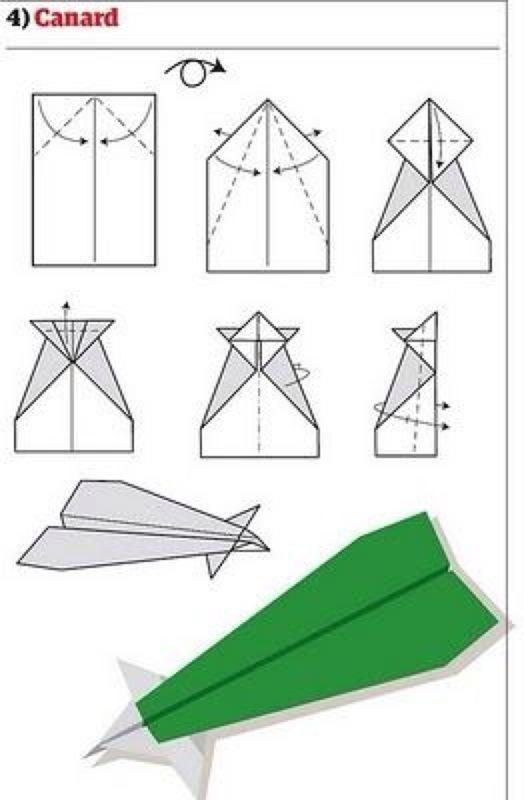 飞得最远的纸飞机折法只折,不剪不粘不撕
