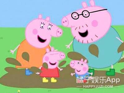 """【表情包】小猪佩奇一家亲,""""吹风机""""猪的童真日常"""