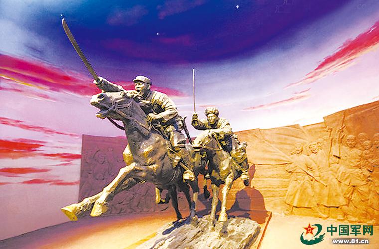 横刀策马:忆内蒙古骑兵部队征战史