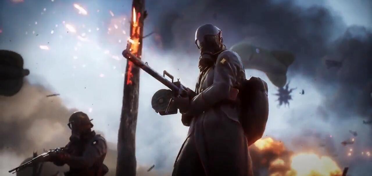 《战地1》新武器预告片