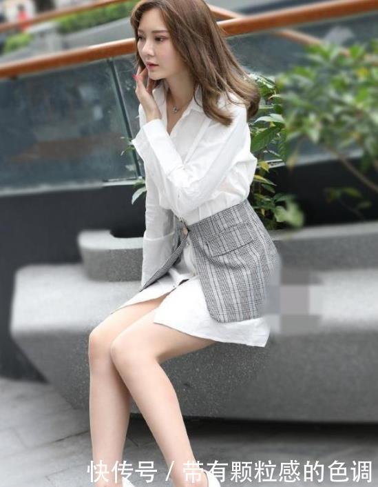 街拍:富有活力的小姐姐,大长腿十分亮眼,唯美大气