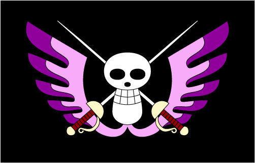 交叉宫廷装饰旗帜矢量图