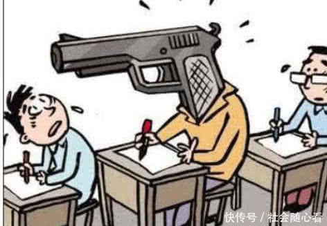 初中生作弊:写在指甲盖上表示啥,最后1个下图化学不算初中老师图片