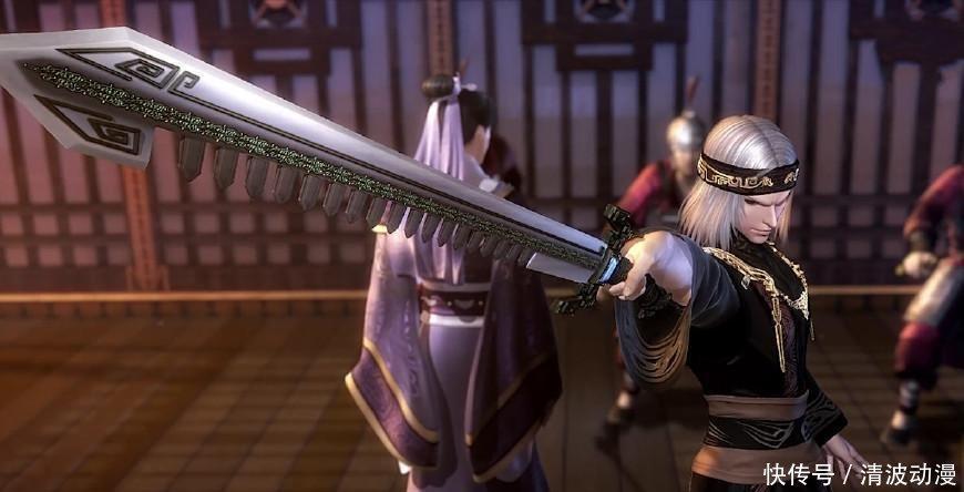 娱乐 正文  小庄的鲨齿剑可不是闹着玩的,作为卫庄的标配武器,鲨齿图片
