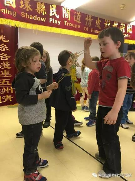 中国皮影戏走进蒙特利尔幼儿园