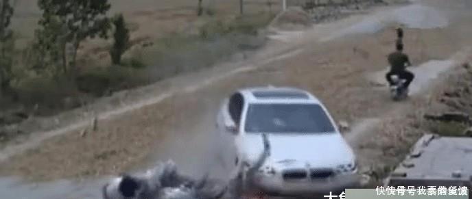 马路晒麦草致宝马侧滑,女子被撞亡司机和晒麦村民,谁主要责任