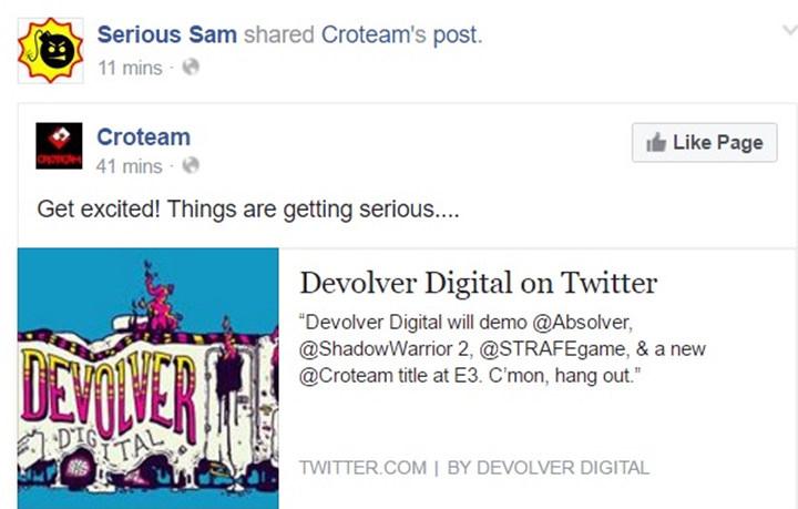 《英雄萨姆4》或将出席E3游戏展