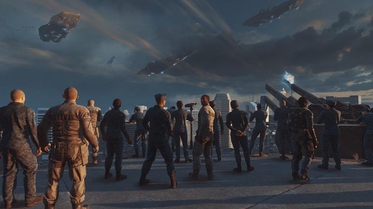 《使命召唤13:无限战争》PS4 Pro游戏截图