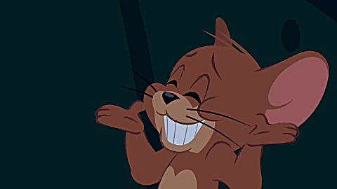新猫和老鼠:汤姆发现了杰瑞,于是追着杰瑞跑了好久!