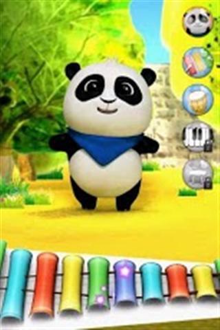 说话的熊猫
