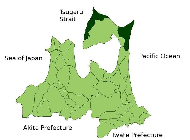下北郡地图