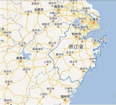 杭州乌镇千岛湖地图
