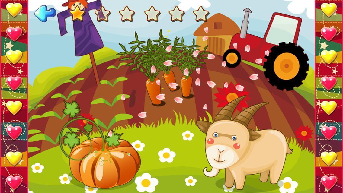 美妙的农场风光,认识各中农场植物,动物。 这是一款特别为(2-12岁)年龄段的儿童设计的拼图游戏, 它不仅能让您的孩子获得玩拼图游戏的趣味, 更能提高您孩子对大自然中事物的认知能力以及促进您孩子大脑的形象思维能力! 本儿童拼图游戏是以大海中的各种风景和奇特的动物园为主题乐园的拼图游戏故事。让宝宝巴士在益智游戏中学习各种动物英语,眼、手、脑也一起得到锻炼,培养小朋友的综合能力。