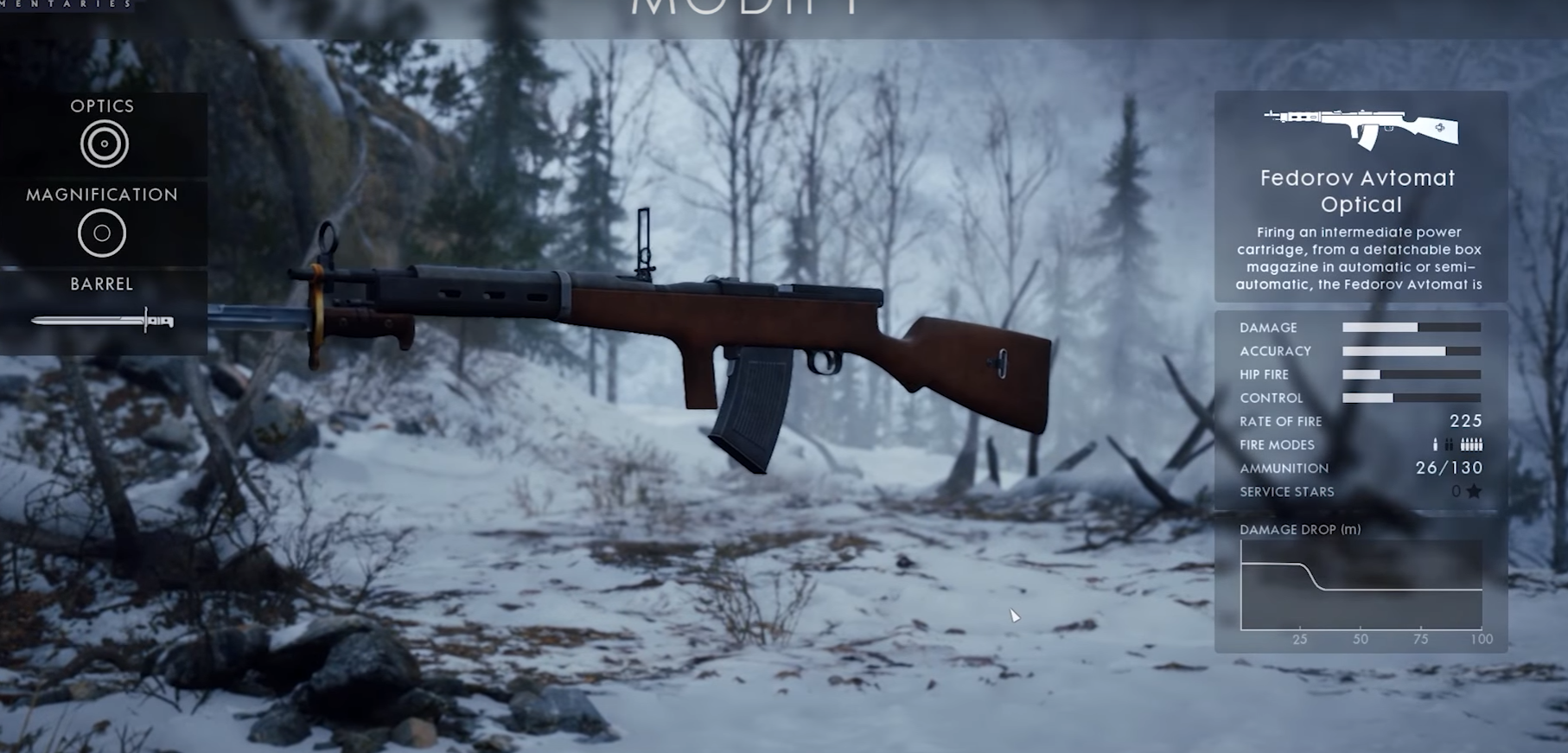战地1以沙皇之名DLC新武器数据资料一览