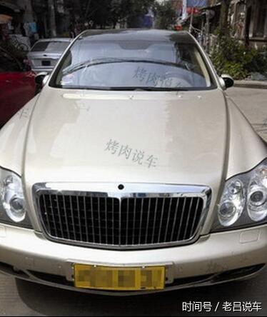 安徽唯一的迈巴赫62,车标连着被偷两次,车主一怒之下卖了