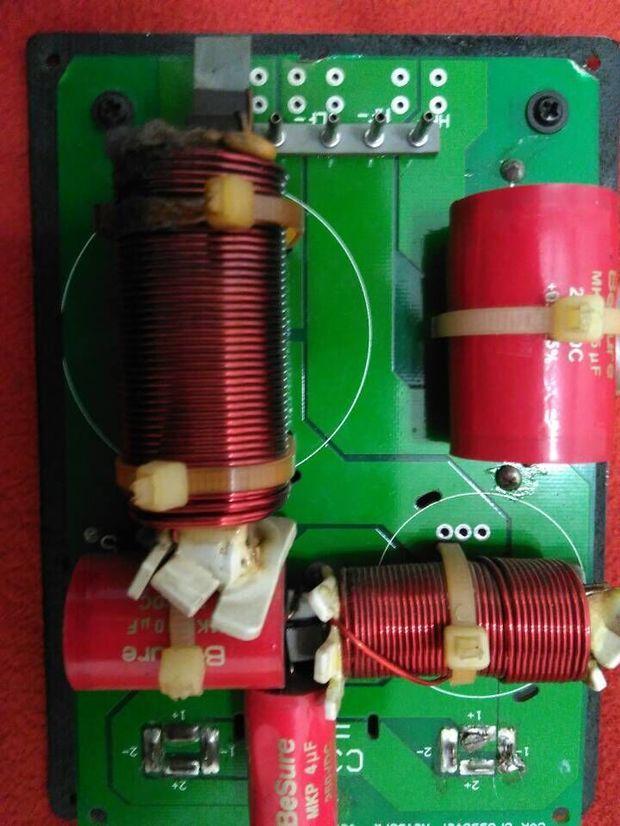 专业舞台音箱二分频器
