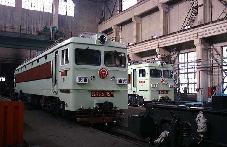 韶山3型电力机车