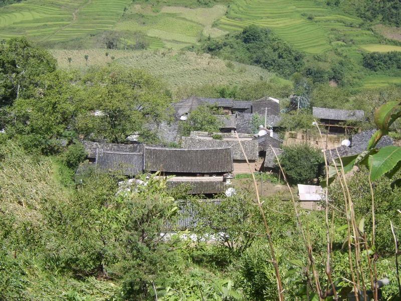云南省大理乡村风景图片