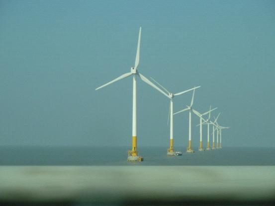 上海东海大桥海上风电场