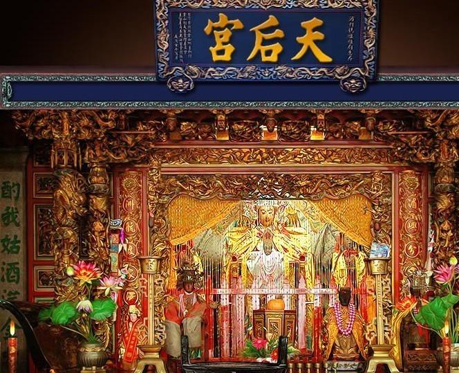 方塔天妃宫是现今上海地区唯一幸存的妈祖庙遗迹,它坐落于方塔园中心