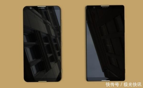 索尼两款全面屏手机谍照现身,双面玻璃+屏下指