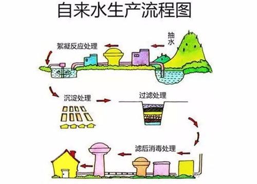 小爱:不仅仅如此哦,自来水厂的取水泵站汲取江河湖泊,地下水,地表水