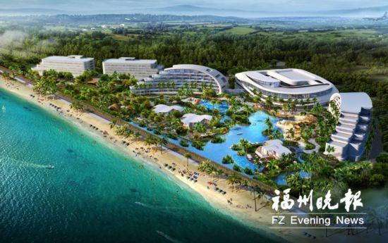 """滨海新城内首个五星级酒店福州""""海上威尼斯""""将可乘船入住"""