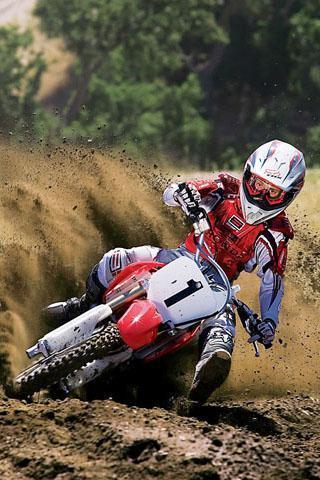 越野摩托车赛车