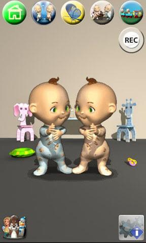 会说话的双胞胎 Talking Baby Twins截图1
