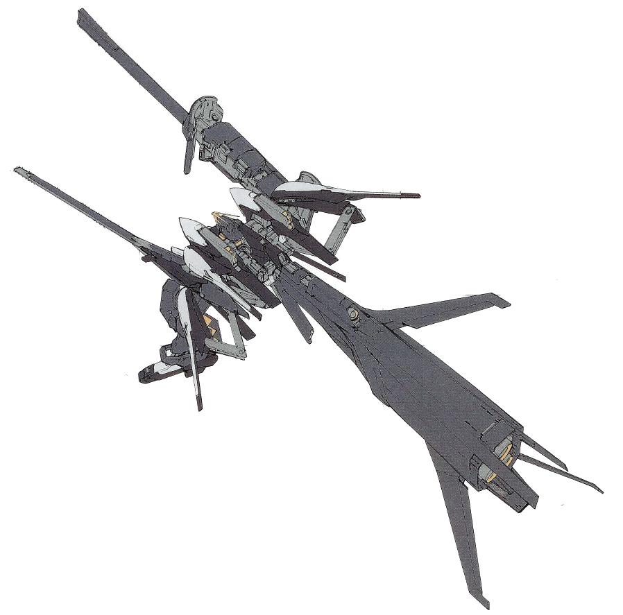 RX-121-3C高达TR-1·海瑟斯雷-拉赫巡航形态