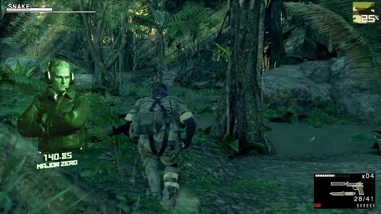 重制版《合金装备3》画面