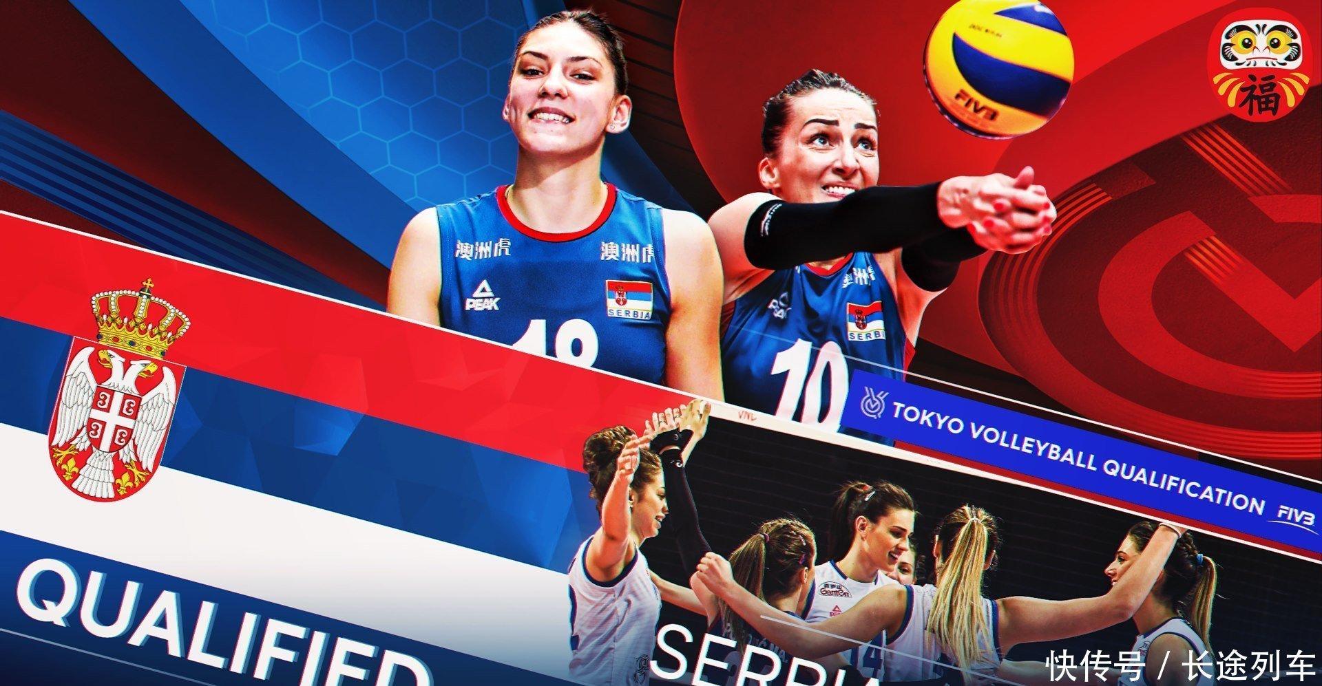 奥资赛出线六队宣传海报出炉,这些队员是国际排联认证的各队巨星