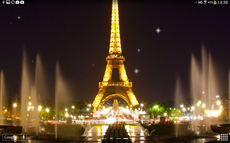 应用 地图导航 巴黎埃菲尔铁塔  上一张下一张