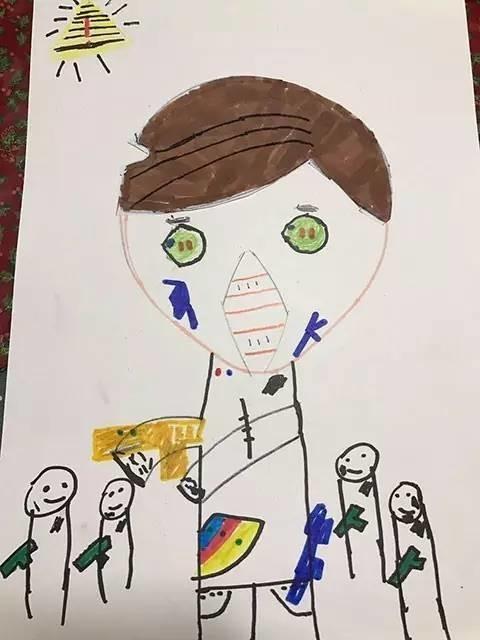 厉害了!儿子在家随意涂鸦 别人家老爸竟然这样做 - 真光 - 真光 的博客