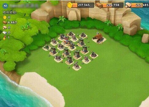 42级木材资源岛防御阵型