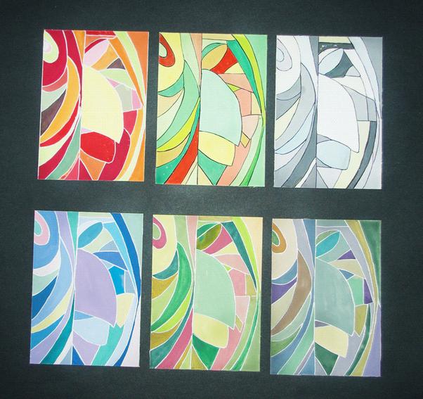 ps色彩构成与应用 图像色彩冷暖对比