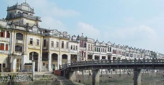 赤坎影视城与号称中国华侨大观园的国家AAAA级旅游景区立园、自力村碉楼群分布在325国道两旁,相互之间仅需10多分钟的车程。所以,有关部门把它们有机地结合起来,让游客在最短的时间里,享受到最多的旅游文化精品。众所周知,开平是著名的碉楼之乡、华侨之乡,有保存得相当完好的1800多座碉楼,有300多米长的欧陆风情骑楼群,还有著名烈士周文雍和陈铁军的陵园,旅游资源相当丰富。 赤坎影视城曾是香港电影《醉拳》、央视《香港的故事》、《寻找远去的家园》的主要拍摄基地,在新建成的三家巷影视城里,三十六集大型电视连续剧《风