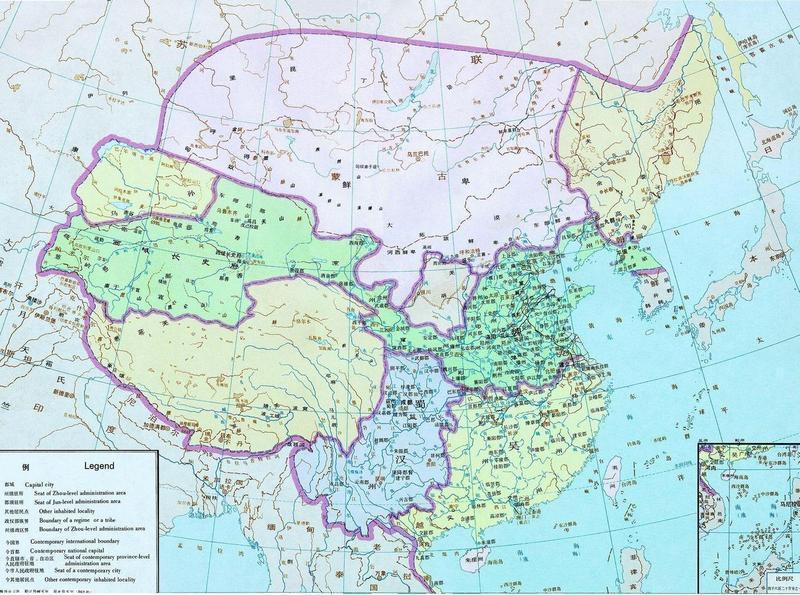 三国幽州势力地图